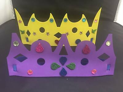 Foam Party Crowns Pack of 12