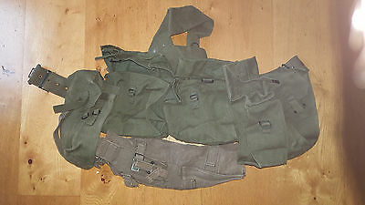 1958 Pattern  webbing 58 Webbing Set. bushcraft,walking, collection