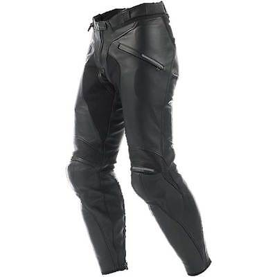 Dainese Pony C2 Black Motorcycle Motorbike Perforated Leather Trouser All Sizes