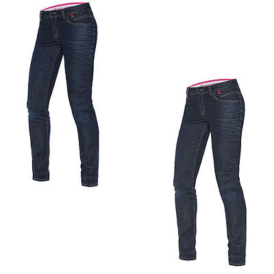 Dainese Belleville Motorcycle Ladies Slim Jeans / Trouser All Colours & Sizes