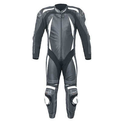 RST Pro Series CPXC II White Motorcycle One Piece Leather Race Suit All Sizes