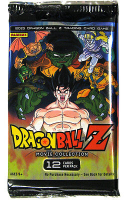 Dragon Ball Z Collectible Card Game Movie Collection Booster Pack