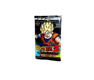 Dragon Ball Z Heroes and Villains  Booster Pack Trading Card Game Panini