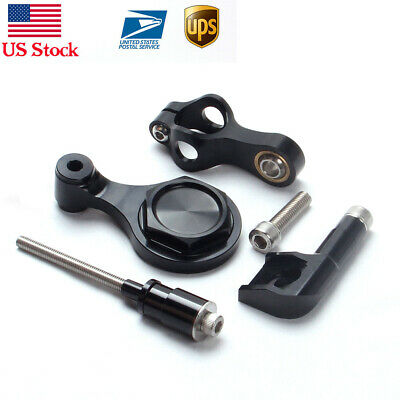 Alloy Aluminum Steering Damper mounting bracket kits for Yamaha YZF R6 2006-2014