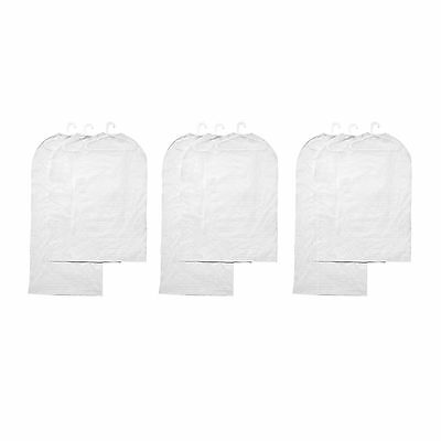 9 x IKEA PLURING PEVA White Clothes/Garment Covers (3 Sets of 3)