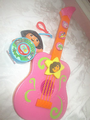Dora The Explorer Toy Guitar And Spinning Musical Toy