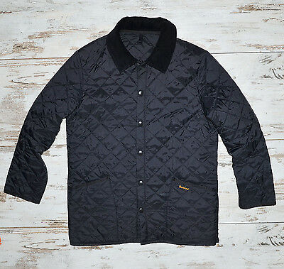 Barbour Mens Liddesdale Uilted Jacket Size L Great Condition