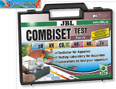 JBL Test Combi Set Plus FE (Fer) / COFFRE DE TEST/testlabor EAU DOUCE L'eau