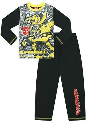 Boys Transformers Bumblebee Long Pyjamas The Last Knight