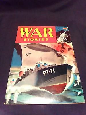Golden Age WAR STORIES # 8 Dell Comics 1943 Off White to Cream pages, NICE!