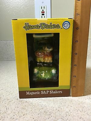 Hong Kong Phooey & Spot Magnetic Salt & Pepper Shakers - Hanna Barbera Westland