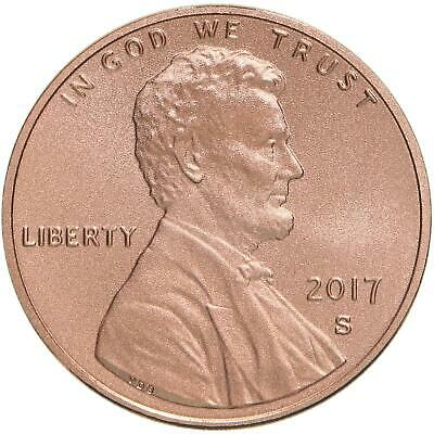 2017 S Enhanced Uncirculated Cent 225th Anniversary Lincoln Shield Penny