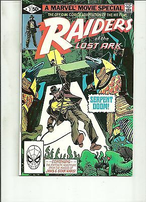 RAIDERS OF THE LOST ARK  #2 Marvel Comics 1st Print VF/NM 1981