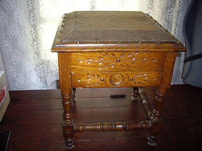 antique shoe shine stand very fancy