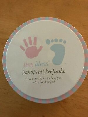 Tiny Ideas Handprint Keepsake