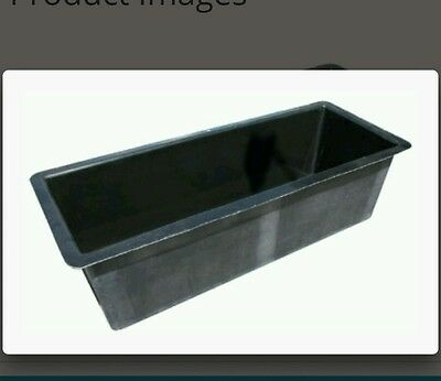 Fibreglass rectangle fish pond or pools or troughs