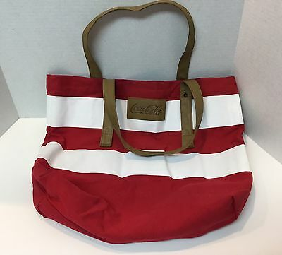 Coca-Cola Coke Tote Bag Red And White