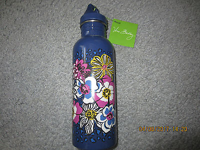Vera Bradley Water Bottle  / African Violet  New With Tag