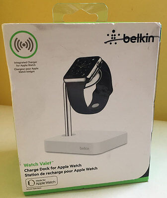 Belkin Watch Valet Charging Dock for Apple Watch - New in Box Free Fast Shipping