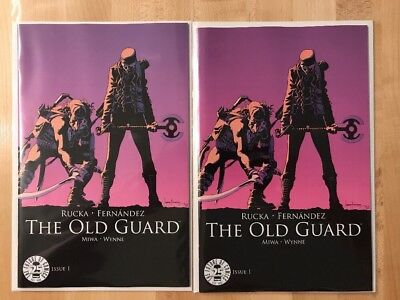 The Old Guard #1 25th Anniversary Image Blind Box Color Variant 2 Comic Lot