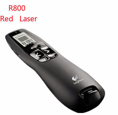 Logitech R800 Professional Wireless Presenter Remote Control With Red Laser