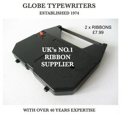 2 x COMPATIBLE CORRECTABLE FILM RIBBON FOR *BROTHER AX10* ELECTRONIC TYPEWRITER