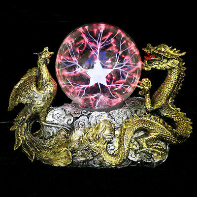 Plasma Thunder Magic Lightning Ball Sphere Tesla Lamp Dragon Electricity Effect