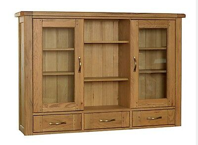Display Cabinet Sideboard Top oak glass display cabinet Top Kitchen Dining Room