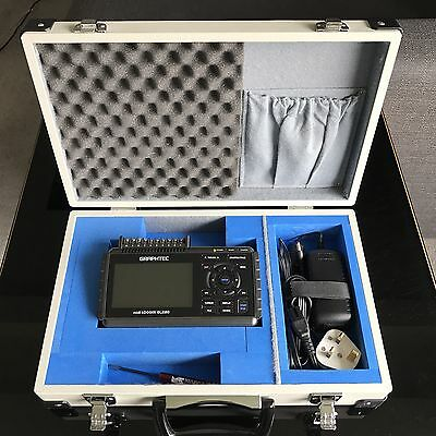 GRAPHTEC GL220 10-channel Data Logger complete with £200 GRAPHTEC carry case.