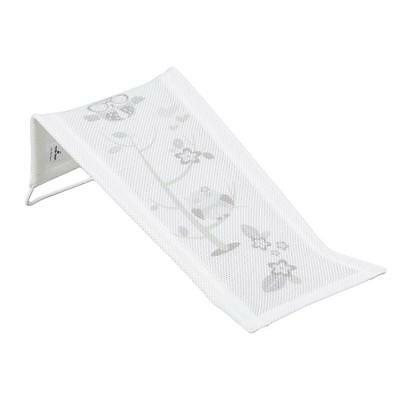 Baby Bath Pad Towelling Safety Support Seat Mat Child Easy Bathing White Owls