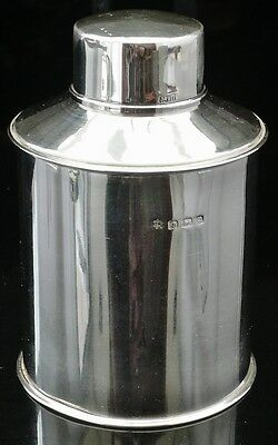 Silver Tea Caddy, Birmingham 1912, William Hutton & Sons Ltd