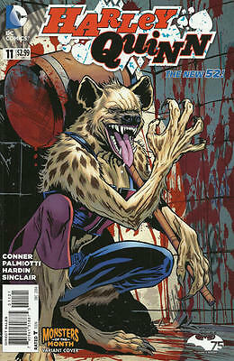Harley Quinn #11 (2014) Dc 52 Comics Hyena Monsters Of The Month Variant! Nm