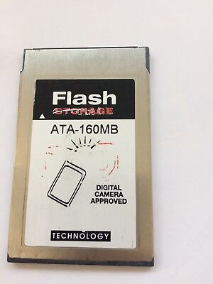 ATA 160MB PCMCIA Flash Memory Storage Card