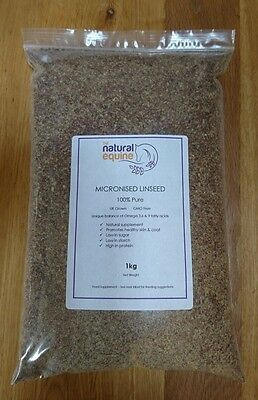 Micronised Linseed  Unique Omega 3,6,9 Content  Low Sugar  High Oil UK Grown