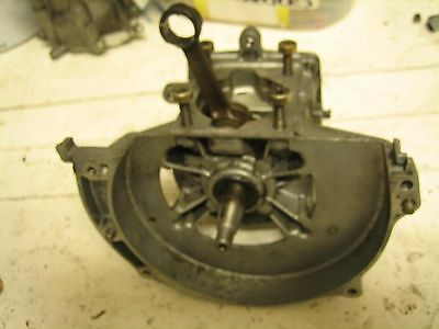 Stihl Fs 106 Trimmer - Genuine Crankcase With Good Crankshaft,needs New Bearings