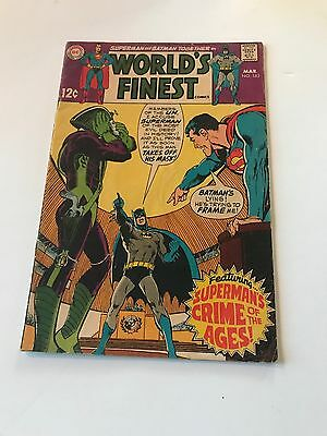 Silver Age World's Finest Lot #183, 190, 192, 202 & 209