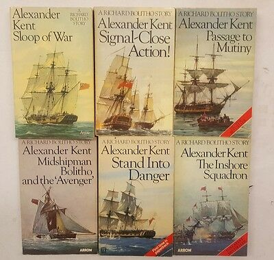 Alexander Kent 6 book bundle (1)