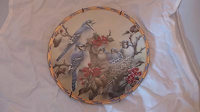 LENOX Catherine McClung Natures Nestlings MORNING SONG Collector Plate