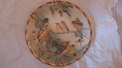 LENOX Catherine McClung Natures Nestlings GOLDEN MOMENTS Collector Plate