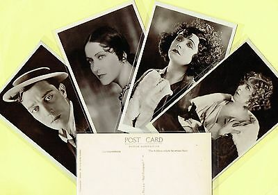 PICTUREGOER - MAIN Series 1920s Silent Film Star Postcards #115 to #150