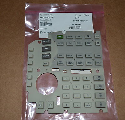 Agilent Keysight 5041-9630 Rubber Keypad for 8560 Series SpecAn, NEW 3 Available