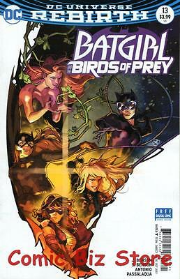 Batgirl And The Birds Of Prey #13 (2016) 1St Print Variant Cover Dc Uni Rebirth