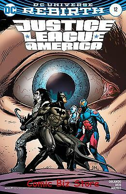 Justice League Of America #12 (2017) 1St Print Variant Cover Dc Universe Rebirth