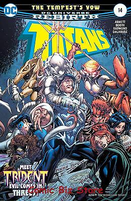 Titans #14 (2017) 1St Printing Bagged & Boarded Dc Universe Rebirth