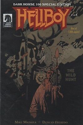 Hellboy: The Wild Hunt #1 Variant Cover