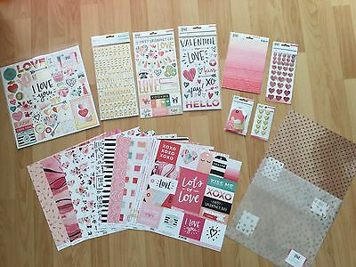 "Crate Paper ""Hello Love"" komplettes Kit, 20 Teile"