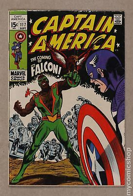 Captain America (1968 1st Series) #117 GD/VG 3.0
