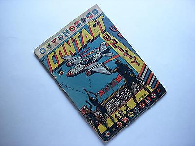 Contact Comics #8  Classic L.b.cole Wwii Victory Cover  Aviation Press 1945