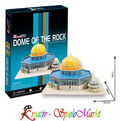 Cubic Fun - 3D Puzzle Dome of the Rock Felsendom Jerusalem Israel Mittel