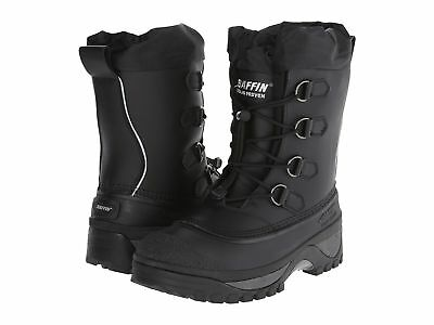 Baffin Muskox Mens Snow Boots Black